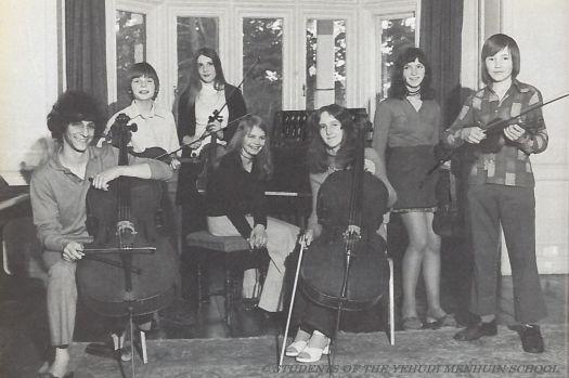 Jacqueline Cole at the Yehudi Menhuin School